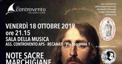 "Venerdì a Recanati ""Arie sacre marchigiane per celebrare San Luca"" patrono dei medici"