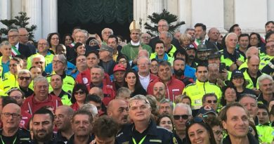 A Loreto la grande festa dei volontari marchigiani della Protezione civile