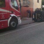 Un ferito alla periferia di Osimo nello schianto tra un'auto ed un fuoristrada