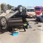 Due feriti ad Osimo nello schianto tra due auto