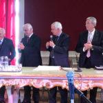 """L'Ambasciatore Giuseppe Balboni Acqua ha consegnato a Mogol il """"Premio Giacomo Leopardi"""""""