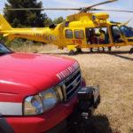 Si schianta al suolo con il parapendio, soccorso e trasportato in gravi condizioni all'ospedale di Torrette