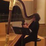 Raffinato concerto di arpa della professoressa Monica Marcolini al Museo nazionale Rossini di Pesaro