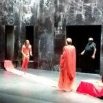 Successo di pubblico al teatro Rossini per il Maestro e Margherita di Bulgakov con Michele Riondino