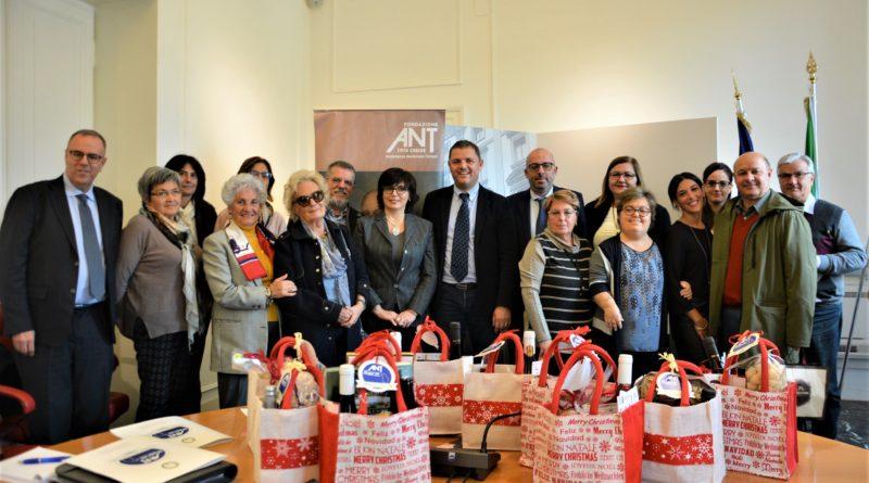 A Natale i migliori prodotti agroalimentari delle Marche per aiutare l'Ant e i malati di tumore