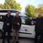 """Donato questa mattina alla coop """"Amore e vita"""" di Ancona un Doblò attrezzato per il trasporto degli anziani / FOTO"""