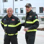 Franco Secondi lascia il servizio attivo: nella Sede Centrale dei vigili del fuoco di Ancona l'omaggio dei colleghi