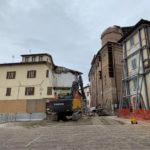 Abbattuto a Camerino il palazzo diventato simbolo del sisma del 2016