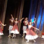 Teatro Rossini gremito a Pesaro per assistere all'esibizione dei migliori ballerini di Mosca