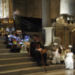Un bellissimo presepe vivente proposto al Duomo di Ancona dalla cooperativa Il Piccolo Principe / FOTO