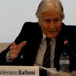 Il mondo accademico in lutto per la scomparsa del professor Valeriano Balloni