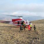 Escursionista in difficoltà sul monte Vettore soccorso e recuperato dai vigili del fuoco