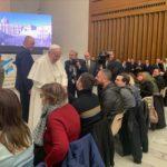 Mattinata emozionante per i ragazzi di Centimetro Zero ricevuti da Papa Francesco