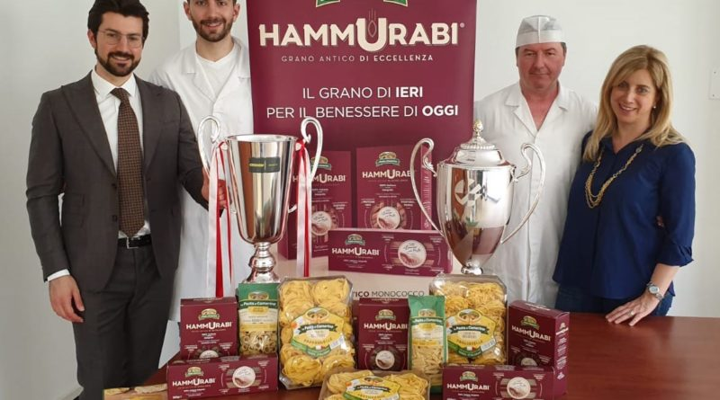 """""""La Pasta di Camerino utilizza solo grano 100% italiano con filiera tracciata"""""""