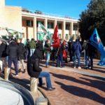 Continua la protesta nel mondo ex Auchan, giovedì manifestazione a Osimo