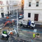 Si rompe una condotta idrica ad Ancona: traffico in tilt, una parte della città senz'acqua