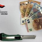 Tenta una rapina ad Ancona ma viene arrestato subito dopo dai carabinieri