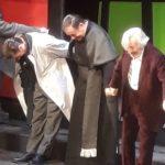 Un grande Leo Gullotta emoziona il pubblico pesarese presente al teatro Rossini