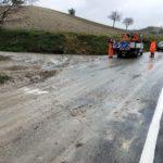 Dopo la neve gli smottamenti, nuovi problemi nell'Alto Maceratese