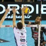 Per la Lube rimonta vincente in SuperLega: Trento battuta 3-2 all'Eurosuole Forum chiuso al pubblico