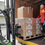 Arrivate ad Ancona le prime mascherine donate alle Marche dalla Cina