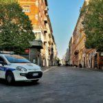 Strade e piazze deserte hanno accolto in questi giorni ad Ancona i controlli della Polizia locale