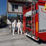 Una persona soccorsa in casa nel pomeriggio dai vigili del fuoco