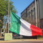 Da oggi a Pesaro il Tricolore sventola anche in piazzale Garibaldi