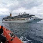 In arrivo al porto di Ancona la nave da crociera bloccata ai Caraibi all'inizio della pandemia
