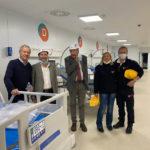 Quasi pronto a Civitanova il nuovo Covid Hospital delle Marche