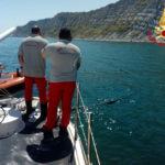 Un grosso tubo ostacolava la navigazione, rimosso al largo di Ancona dai vigili del fuoco