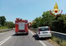 Schianto tra due auto sulla Statale: i feriti trasportati negli ospedali di Osimo e Torrette