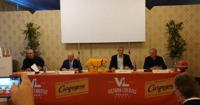 Il Prosciutto di Carpegna si conferma a Pesaro con una Vuelle che ha fame di vittorie