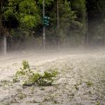 Una violenta grandinata dopo la tempesta: pomeriggio di paura ad Ancona / Foto e Video