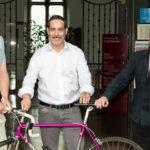 """PIFaround e """"Il pentagramma a pedali"""": in bici da Castelfidardo a Berlino al ritmo della fisarmonica"""