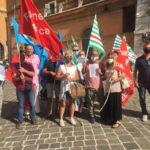 Nelle Marche continua la lotta dei lavoratori della sanità privata