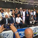 Salvini ha presentato a Macerata i candidati della Lega per le Marche