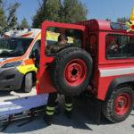 Si infortuna ad una gamba lungo il sentiero che porta a Mezzavalle, soccorsa e portata in ospedale
