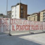 Il grazie di Ancona al coraggioso impegno dei Vigili del fuoco