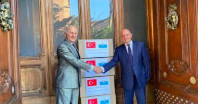 Festa Nazionale della Turchia, l'ambasciatore Girelli esprime la riconoscenza di San Marino