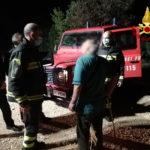 Anziano si perde tra i boschi, rintracciato dai vigili del fuoco