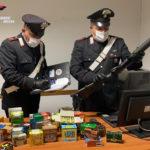 Settantenne arrestato dai carabinieri per possesso illegale di un fucile