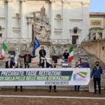"""""""Catene di libertà"""", ad Ancona l'iniziativa di Gioventù Nazionale contro la mancata programmazione del Governo"""