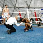 Boxe, a Mattia Occhinero sono bastate quattro riprese per superare il dominicano Juan Tomas Santos