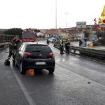 Incidente stradale con un ferito sull'Asse Nord Sud