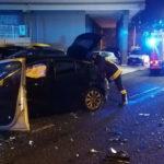 In serata violento scontro frontale tra due auto ad Ancona