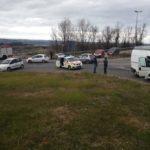 Una donna ferita nello scontro tra un'auto ed un furgone