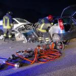 Tragico schianto tra un'auto ed un furgone, la vittima è un uomo di 43 anni