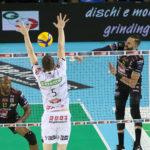 Padova schiantata in meno di un'ora: la Cucine Lube vola alla final four della Del Monte Coppa Italia