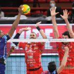 Cucine Lube sconfitta nel derby italiano di Champions League con Perugia (0-3)